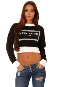 crop-pull-a-manches-longues-noir-new-york-city-1558